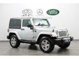 2011 Bright Silver Metallic Jeep Wrangler Sahara 4x4 #70818990