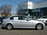 2007 Titanium Silver Metallic BMW 3 Series 328i Sedan #7059586