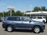2012 Shoreline Blue Pearl Toyota Highlander V6 4WD #70818580
