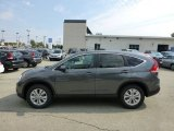 2012 Polished Metal Metallic Honda CR-V EX 4WD #70818875