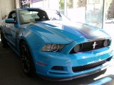 2013 Grabber Blue Ford Mustang Boss 302 #70893636