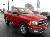 2009 Flame Red Dodge Ram 1500 SLT Regular Cab #70893625