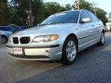 2005 Titanium Silver Metallic BMW 3 Series 325i Sedan #70893599