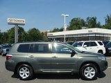 2010 Cypress Green Pearl Toyota Highlander SE 4WD #70893719