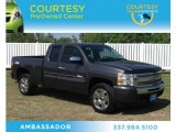2010 Taupe Gray Metallic Chevrolet Silverado 1500 LT Extended Cab #70925930