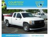 2009 Summit White Chevrolet Silverado 1500 Extended Cab 4x4 #70925925