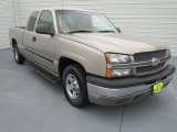2003 Light Pewter Metallic Chevrolet Silverado 1500 Extended Cab #70925849