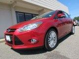 2012 Red Candy Metallic Ford Focus SEL 5-Door #70926016