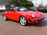 1988 Porsche 911 Guards Red
