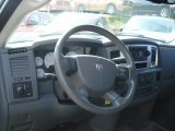 2008 Dodge Ram 3500 SLT Mega Cab 4x4 Dually Steering Wheel