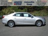 2013 Silver Ice Metallic Chevrolet Malibu LT #70925813