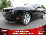 2013 Pitch Black Dodge Challenger SXT #70925784