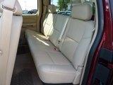 2013 Chevrolet Silverado 1500 LTZ Extended Cab 4x4 Rear Seat