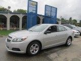 2013 Silver Ice Metallic Chevrolet Malibu LS #70963198