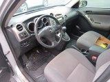 2007 Toyota Matrix  Dark Charcoal Interior