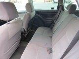 2007 Toyota Matrix  Rear Seat