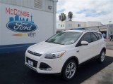2013 White Platinum Metallic Tri-Coat Ford Escape Titanium 2.0L EcoBoost #70963168