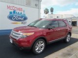 2013 Ruby Red Metallic Ford Explorer XLT #70963166