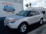 2013 Ingot Silver Metallic Ford Explorer XLT #70963165
