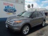 2013 Sterling Gray Metallic Ford Explorer XLT #70963164