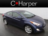 2012 Indigo Night Blue Hyundai Elantra Limited #70963664