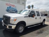 2012 Oxford White Ford F250 Super Duty XL Crew Cab 4x4 #70963152