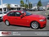 2009 Crimson Red BMW 3 Series 328i Sedan #70963360