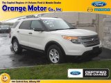 2011 White Suede Ford Explorer FWD #70963323
