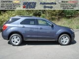 2013 Atlantis Blue Metallic Chevrolet Equinox LT AWD #70963305