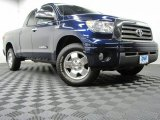 2008 Blue Streak Metallic Toyota Tundra Limited Double Cab 4x4 #70963545