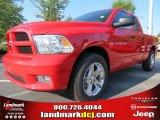 2012 Flame Red Dodge Ram 1500 Express Quad Cab #71009952