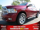 2012 Deep Cherry Red Crystal Pearl Dodge Ram 1500 Laramie Limited Crew Cab #71009951