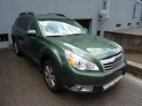 2012 Cypress Green Pearl Subaru Outback 2.5i Limited #71010486