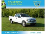 2010 Oxford White Ford F150 XLT SuperCab #71010212