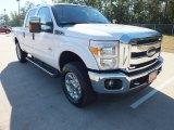 2012 Oxford White Ford F250 Super Duty XLT Crew Cab 4x4 #71010469