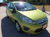 2013 Lime Squeeze Ford Fiesta SE Sedan #71010463