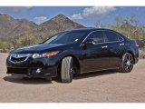 2010 Crystal Black Pearl Acura TSX Sedan #71009904