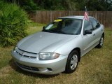 2003 Ultra Silver Metallic Chevrolet Cavalier Sedan #545870