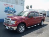 2013 Ruby Red Metallic Ford F150 XLT SuperCrew #71009888