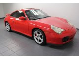 2003 Porsche 911 Guards Red