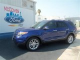 2013 Deep Impact Blue Metallic Ford Explorer Limited #71009884