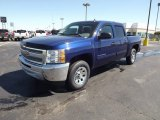 Blue Topaz Metallic Chevrolet Silverado 1500 in 2013