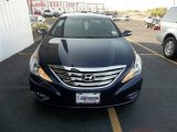 2013 Indigo Night Blue Hyundai Sonata Limited #71009873