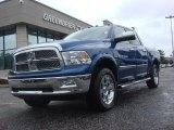 2011 Deep Water Blue Pearl Dodge Ram 1500 Laramie Crew Cab 4x4 #71009864