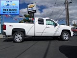 2012 Summit White Chevrolet Silverado 1500 LT Extended Cab 4x4 #71009862