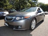 2010 Polished Metal Metallic Acura TSX V6 Sedan #71010418