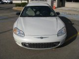 2002 Satin White Pearl Chrysler Sebring LX Coupe #7067250