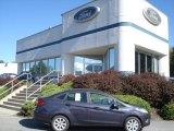 2013 Violet Gray Ford Fiesta SE Sedan #71009822