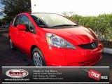 2013 Milano Red Honda Fit  #71009784