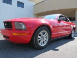 2006 Torch Red Ford Mustang V6 Premium Convertible #71010334